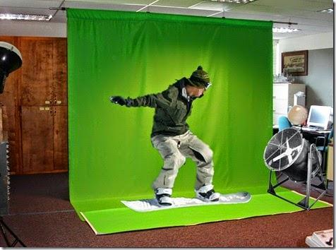 طريقة عزل الخلفية الخضراء فى الفيديو