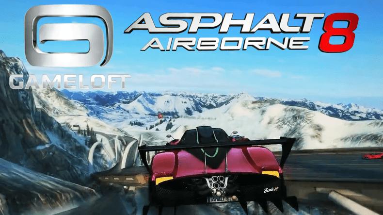تحميل لعبة Asphalt 8 على الكمبيوتر 8.1 1