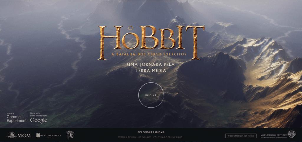 جوجل تطلق لعبة Hobbit على المتصفح