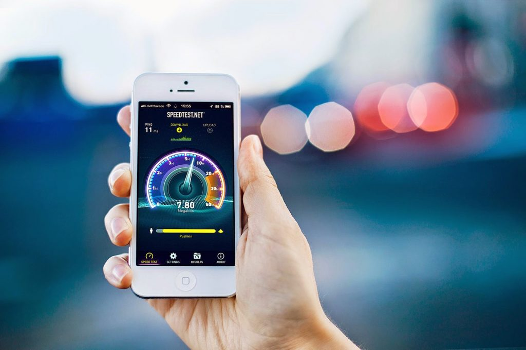 تطبيق مجانى لقياس سرعة الانترنت للايفون والاندرويد
