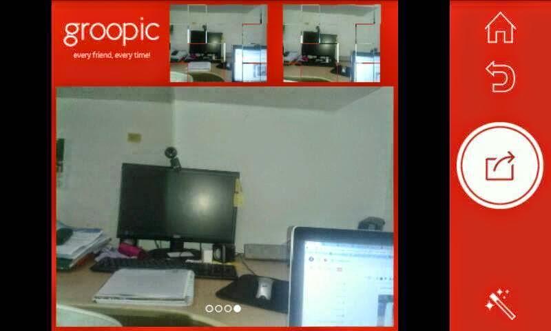 تطبيق groopic للاندرويد لألتقاط صورة تشمل المصور