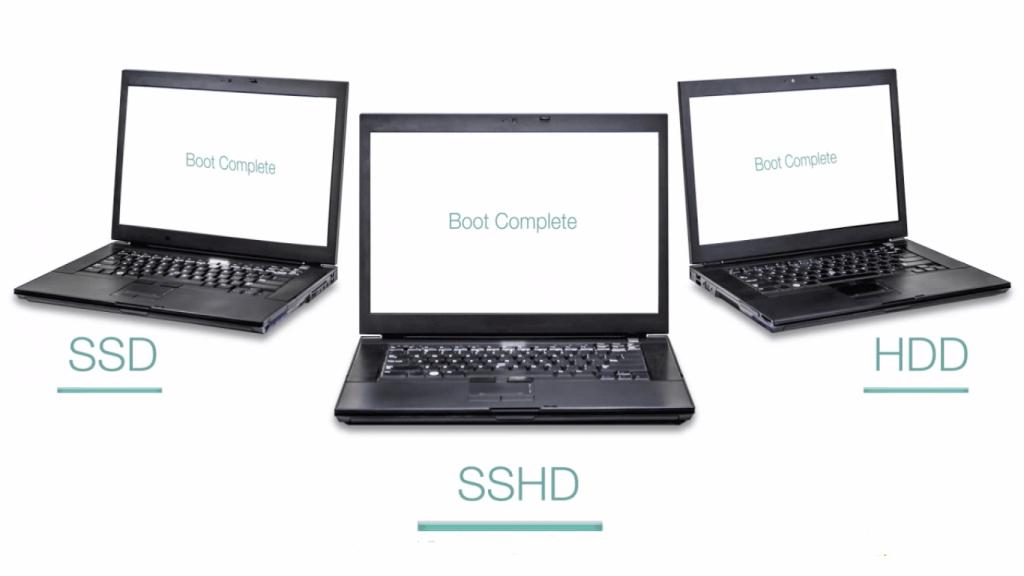 تعريف عن الاقراص الصلبة و ايهما افضل HDD او SSHD او SSD