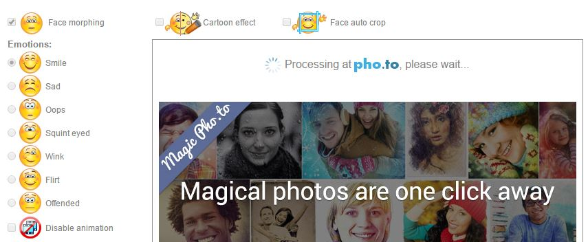 موقع يجعل صورتك تفعل تعبيرات مضحكة ومتحركة