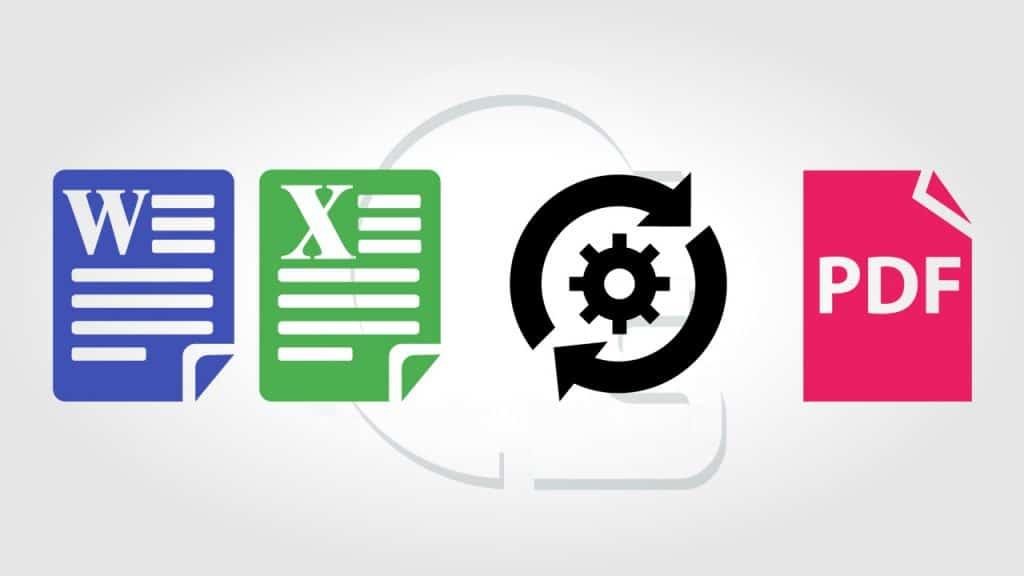 طريقة تحويل ملف word او Excel الى PDF و العكس