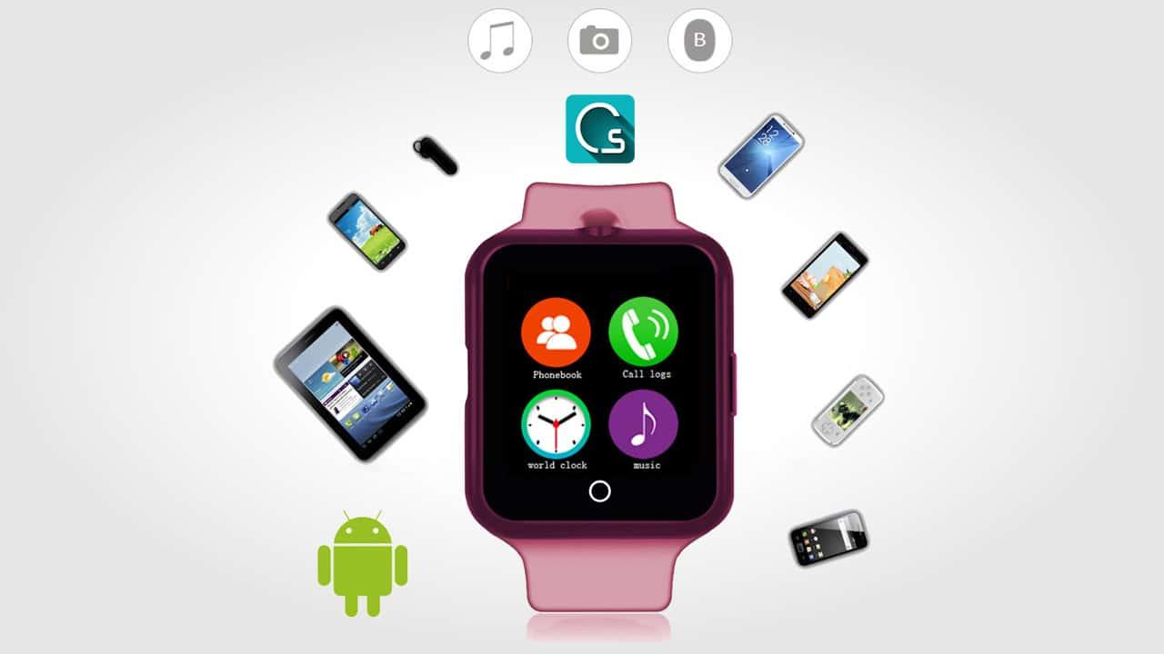 ساعة ذكية و هاتف بنظام اندرويد معاً و بسعر رائع 1