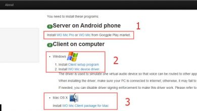 Photo of طريقة تحويل هاتف الاندرويد الى مايكروفون للكمبيوتر