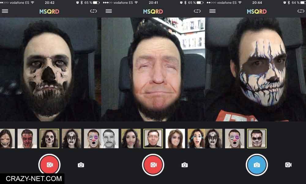 تطبيق على اندرويد و اي فون لتغيير الوجوه الى اشكال مضحكة