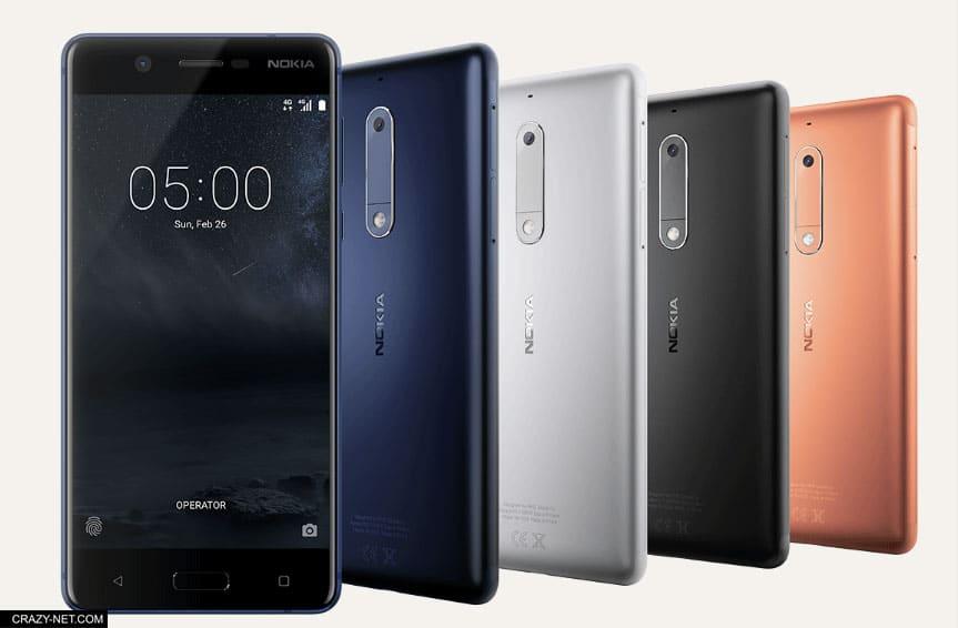 تعرف على مواصفات و اسعار هواتف نوكيا الجديدة Nokia 3 و Nokia 5 و Nokia 6