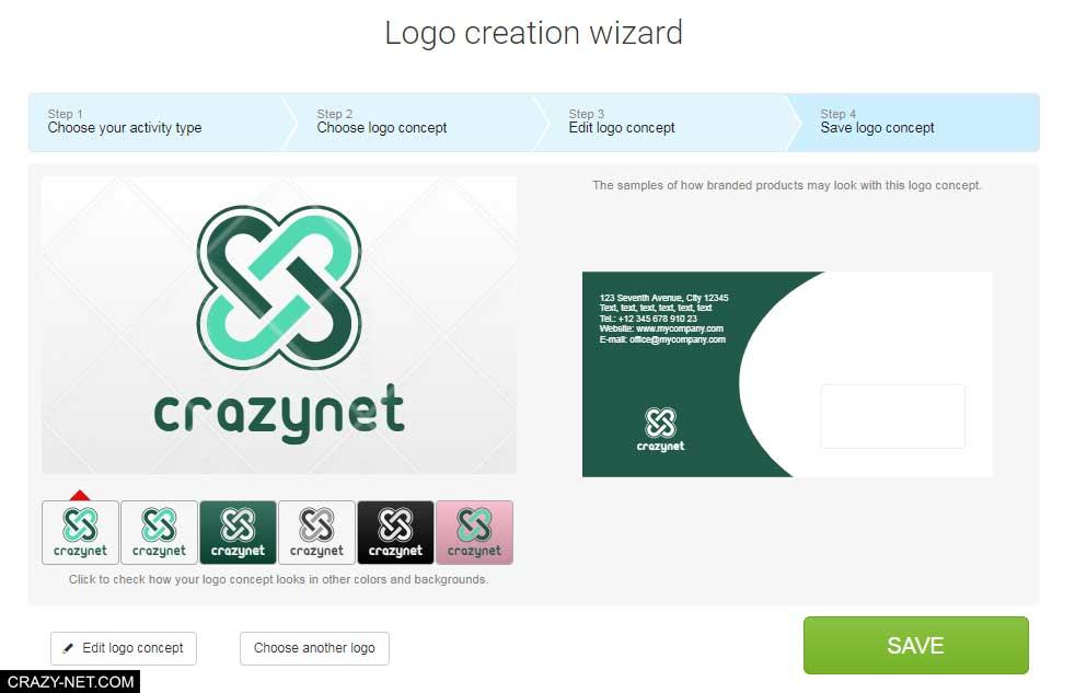 انشاء شعار لمشروعك او شركتك بشكل مجانى باستخدام logaster