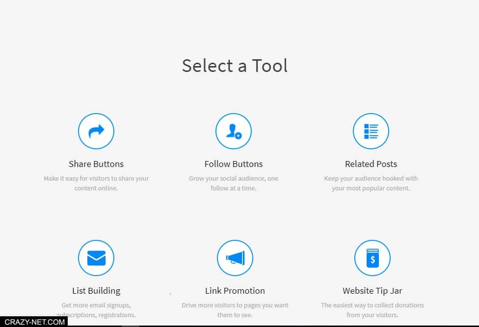 شرح موقع AddThis الذي يتيح لك اضافة ادوات مميزة على موقعك