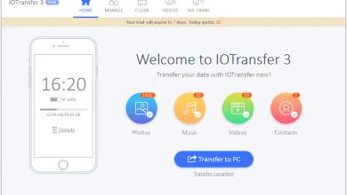 Photo of ادارة هواتف iPhone و iPad باستخدام برنامج IOTransfer 3 بديل iTunes