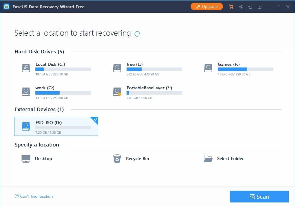 EaseUS Data Recovery أفضل برنامج استرجاع الملفات المحذوفة - تعرف عليه ؟