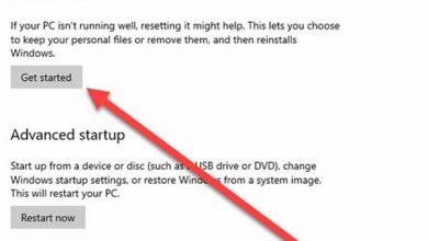 Photo of طريقة اعادة الاعدادات الافتراضية للويندوز بدون فقد الملفات